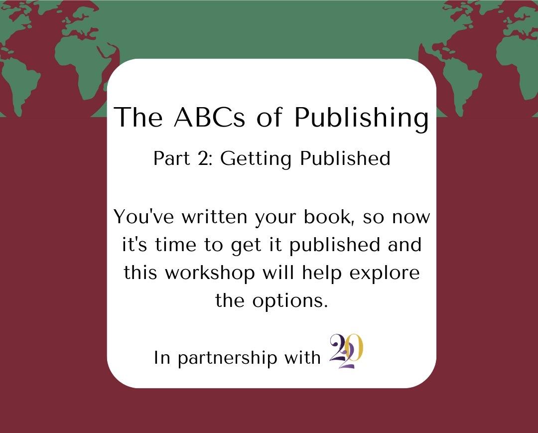 ABCs of Publishing - Part 2